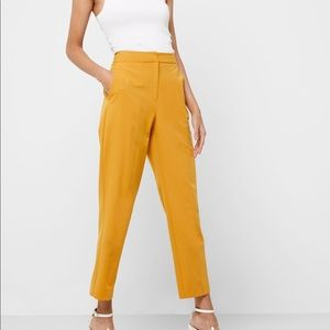 Mustard coloured Topshop trousers